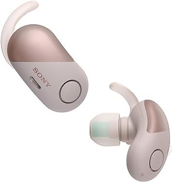 Sony WFSP700NP.CE7 - Auriculares deportivos totalmente inalámbricos (cancelación de ruido, modo sonido ambiente, Bluetooth) , color rosa, con Alexa integrada: Amazon.es: Electrónica