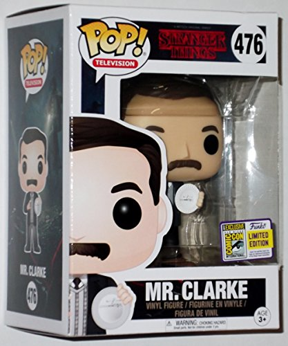 Sdcc Star (SDCC 2017 LE Funko Exclusive Pop! Television Stranger Things Mr. Clark Figure)
