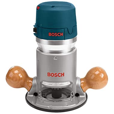 Bosch 12 Amp 2-1/4 HP Variable-Speed 1617EVS with 1/4-Inch and 1/2-Inch Collets
