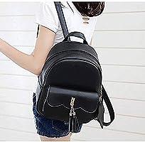 258d606d2775 HKJhk Backpack PU Leather Women's Backpack Small Fresh Garden Cute ...