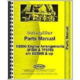 Caterpillar D8800 Engine Arrangements 2F580 & 7F8760 Parts Manual s/n 6S5000 & up
