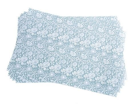 Scented Drawer & Shelf Liners - English Rose Fragranced Drawer and Shelf Liners - NEW Princess Royal Blue by Best British Gifts Fragranced Drawer Liners
