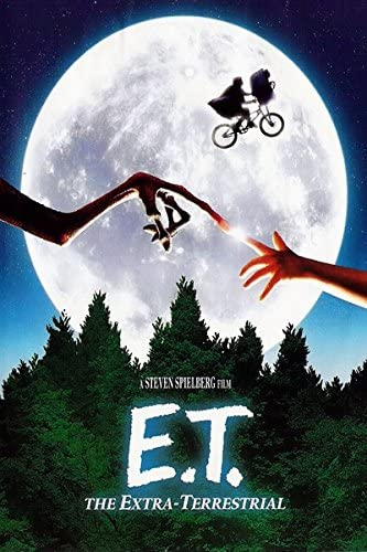 Amazon Com E T The Extra Terrestrial 1982 Vintage Movie Poster 24x36inch 02 Posters Prints