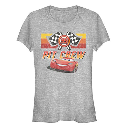 Fifth Sun Cars Juniors' Pit Crew Team Athletic Heather T-Shirt