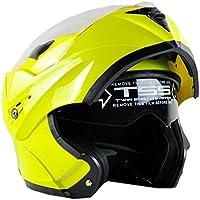 ILM 10 Colors Motorcycle Flip up Modular Helmet DOT (S,...