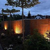 Foco de exterior LED incl. 2x3W GU10 bombillas, IP44 Lámpara de exterior para jardín o pared, Color de luz blanco cálido 3000K, 250lm, 230 V: Amazon.es: Iluminación