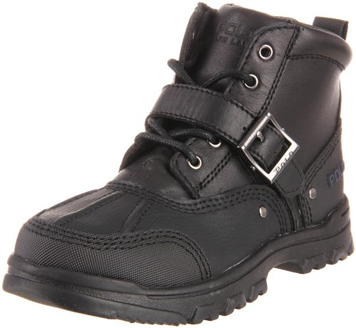 Polo by Ralph Lauren Tyrek II Lace-Up Boot (Toddler/Little Kid/Big Kid) - stylishcombatboots.com