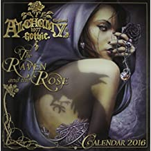 Alchemy 1977 Gothic 2016 Calendar: The Raven and the Rose
