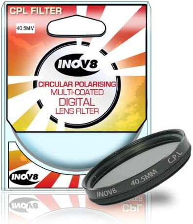 Inov8 Circular Polarising Multi-Coated Digital Lens Filter 40.5mm CPL