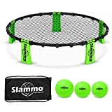 GoSports Slammo Game Set (Includes 3 Balls, Carrying Case and Rules) (Renewed)