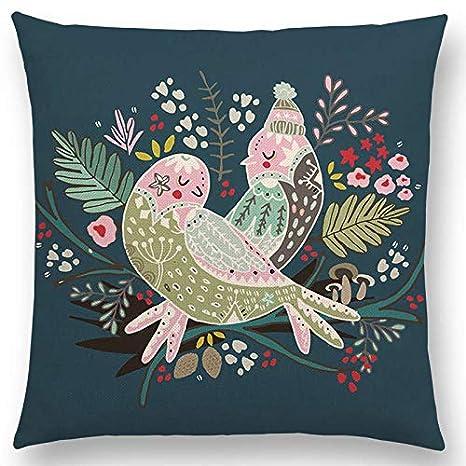 Amazon.com: Leo Marner Animal Tale Floral Garden Pattern ...