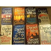 Daniel Silva 8 books Collection: A Death in Vienna+The Confessor+The English Assassin+The Kill Artist+The Marching Season+The Mark of the Assassin+The Secret Servant+The Defector