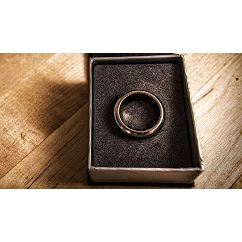 Kinetic PK Ring - Curved Silver (21 mm)