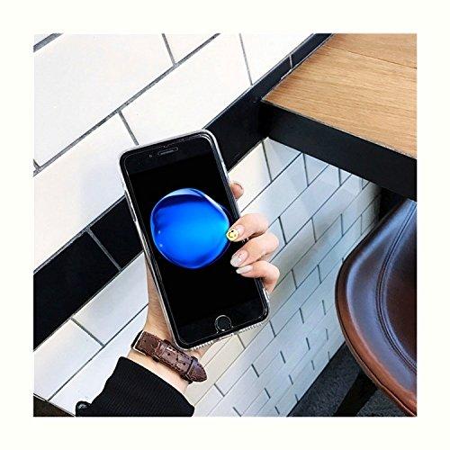 GHC Cases & Covers, Für iPhone 7, Spiegel Stickerei Ananas Muster Schutzmaßnahmen zurück Fall Fall