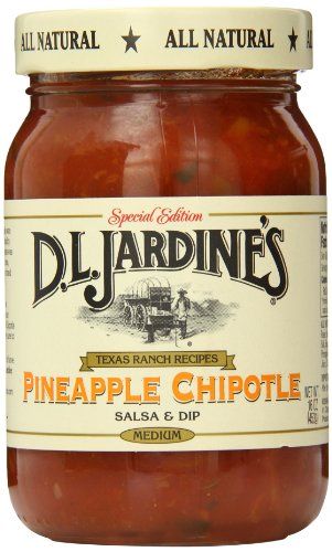 D.L. Jardine's Pineapple Chipotle Salsa, Medium, 16 Ounce
