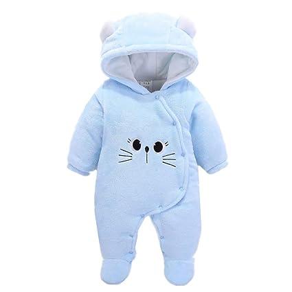KKING - Pijama con Capucha para bebé recién Nacido, con Forro Polar ...