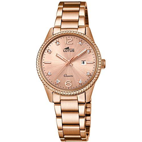 Reloj Lotus Minimalist Mujer Chapado oro rosa