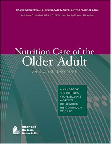 Professional dietetics the best amazon price in savemoney by kathleen c niedert nutrition care of the older adult a handbook for fandeluxe Images