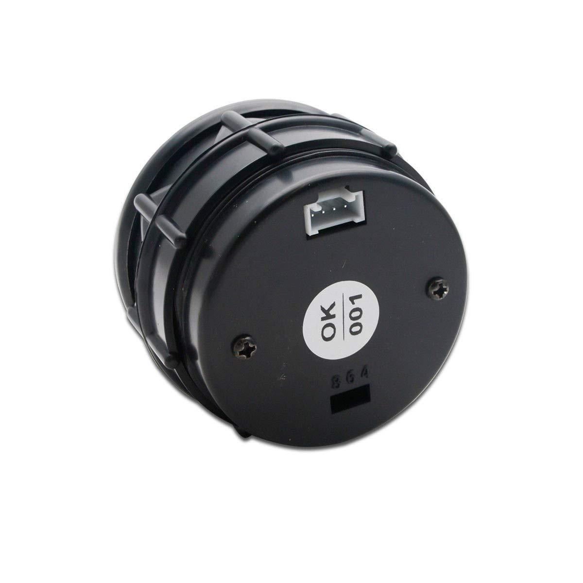 Pantalla LED Azul y luz de Advertencia roja 52 mm//2 en LCD 40~150 /°C de Grado MASO Medidor Digital de Temperatura del Agua con Sensor para Coche//Maletero//Motor