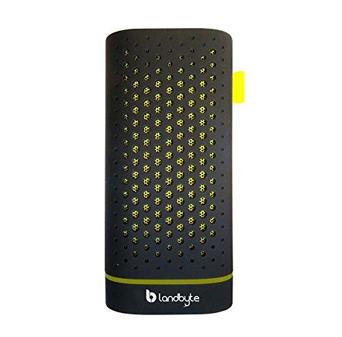LANDBYTE LB-120 Black Wireless Bluetooth Speaker 4.0 Mini Portable Outdoor Stereo Phone Charging Treasure Small Built-in 4400 mA