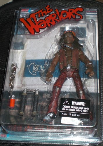 "THE WARRIORS CLEON 9"" FIGURE EXCLUSIVE OOP RARE!! SEALED NEW"