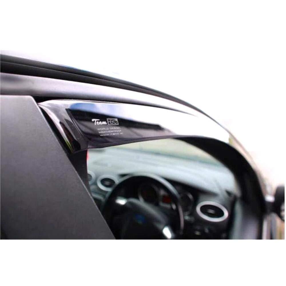 Wind deflectors 4pc HEKO TINTED compatible with Nissan Qashqai mk2 5door SUV 13