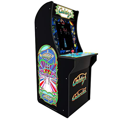 Bring Back Your Arcade Glory Days Have Fun Blasting Alien Invaders Hi Res COINLESS Operation Original Gameplay Galaga/Galaxien Machine 4ft - Great for Sleepovers Or for Any Game Room Or Man Cave!