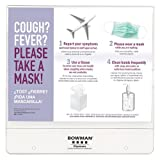 BOWMAN BD106-0012 Cover Your Cough Compliance