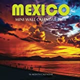 Mexico Mini Wall Calendar 2018: 16 Month Calendar