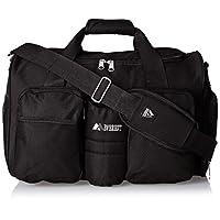 Bolsa de gimnasio Everest con bolsillo mojado, Negro, Talla única