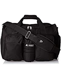 Gym Bag with Wet Pocket, Black, One Size