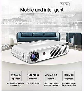 Full HD Proyector con WiFi Bluetooth Pueden Soporte Misma Pantalla 3D, TV Stick, PS4, Xbox, Laptop y Móvil con VGA, USB, 2 Puertos HDMI: Amazon.es: Electrónica