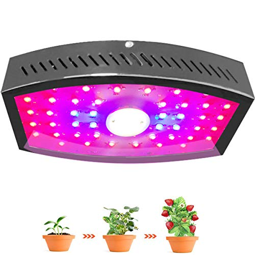 Alitade COB LED Grow Light with Adjustable of Super Brightness Switch Full Spectrum Plant Growing Lamps for Gardening Indoor Growing Greenhouse Planting Veg (Seeding-Flowering-Fructify) (1100W)
