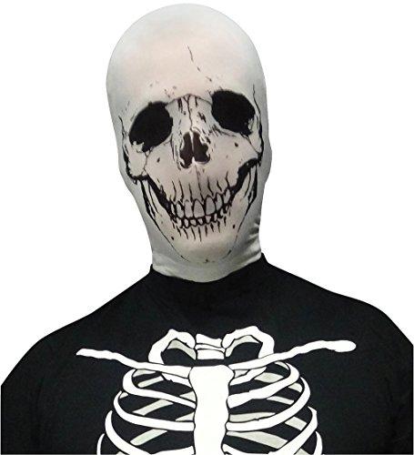 Halloween Stocking Mask - 4 Designs - White Skull