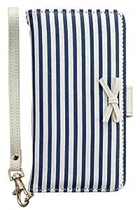 Cubierta de la caja iDress Chica Special Edition Multi Diario Universal Type cojín pegajoso (Marine / azul marino)