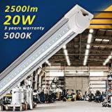 Barrina LED Shop Light 2ft, 20W 2500LM 5000K, T8