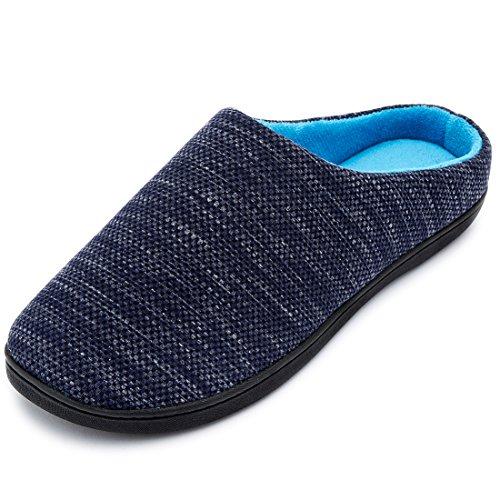 Slipper 2018 Tone Denim Blue Foam Spring Mens RockDove Two Memory Style Uw7Xq0xw4