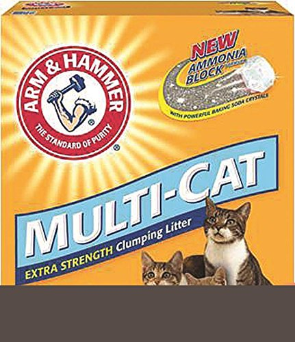 Arm & Hammer Multi-Cat Strength Clumping Litter, Unscented 512x1gBqD 2BL