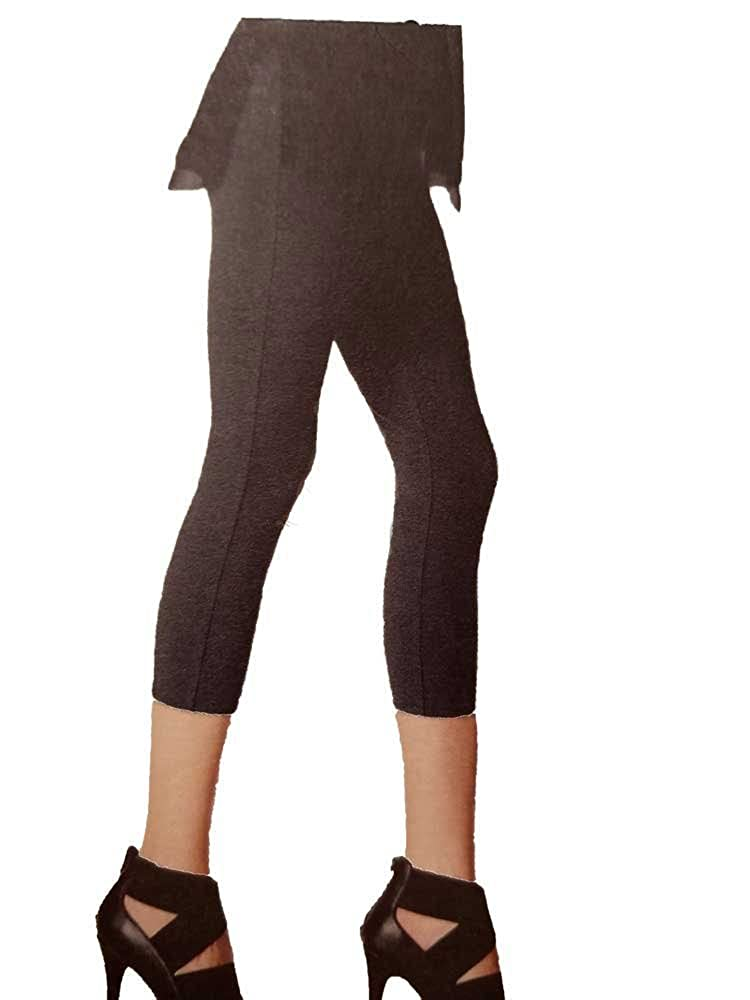 bright in luster promo code new photos Simply Vera Wang High-Waisted Mesh Panel Shaping Capri Leggings,Women's