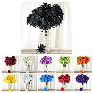 Efavormart 56 Artificial Dahlia Artificial Wedding Flowers for Wedding Party Decoration 34