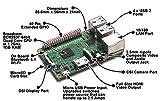 Waveshare AlphaBot-Pi Raspberry Pi Version- Raspberry Pi 3B Mother Board + AlphaBot Platform Chassis + Camera Video Robot Buliding Study Kit Remote Control Set