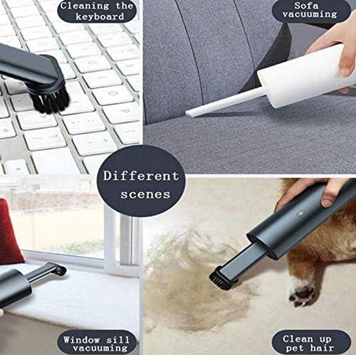 SANON Portable récent Vide Voiture 35W Portable Domestique Plus Propre à Double Usage Petit Wireless Mini Aspirateur WTZ012
