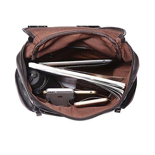Jellybean Handgemacht Vintage Stil Top Faser Luxus Echtes Leder-rucksack Reisetasche Reisetasche Wochenend Tasche Gepäck Tasche Übernachtungs-tasche
