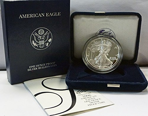 2006 W American 1 oz Silver Eagle Dollar PROOF US Mint ()