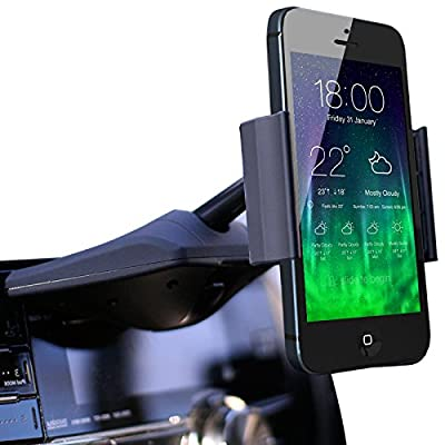 Koomus CD-Air CD Slot Smartphone Car Mount Holder Cradle for All iPhone and Android Devices