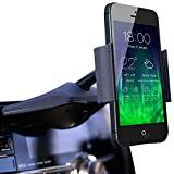 Koomus CD-Air CD Slot Smartphone Car Mount Holder Cradle for All iPhone and Android Devices, Black