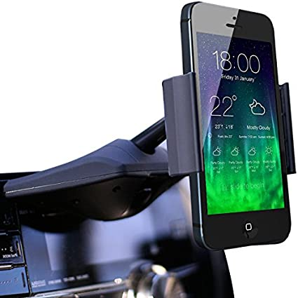 Koomus Magnetos Universal Dashboard Windshield Magnetic Cradle-Less Smartphone Car Mount Holder for All iPhones and Android Devices