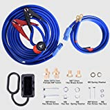 TOPDC Jumper Cables with Quick Connect Plug 1 Gauge 25 Feet 700Amp Heavy Duty Booster Cables with Carry Box