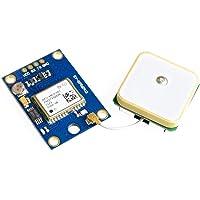 ICQUANZX Módulo de control de vuelo GPS GY-NEO6MV2 NEO-6M 3V-5V con antena de cerámica superfuerte para Arduino EEPROM…