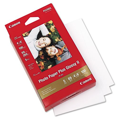 * Photo Paper Plus Glossy II, 69 lbs., 4 x 6, 100 Sheets/Pack